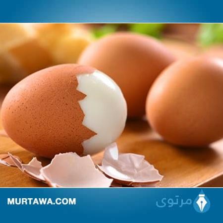 كم بيضة أكل يوميا؟