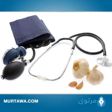 علاج الضغط بالثوم
