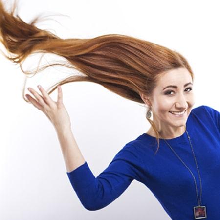 تقوية الشعر بالفيتامينات