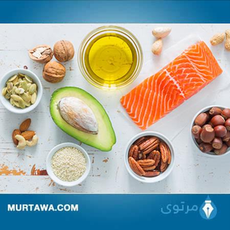 الدهون الصحية والضارة