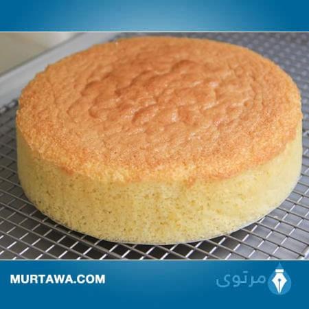 عمل الكيكة الاسفنجية